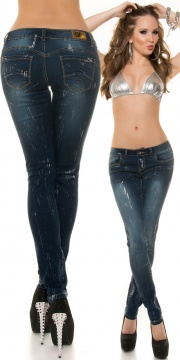 JEANS STRETCH PUSH UP K600333