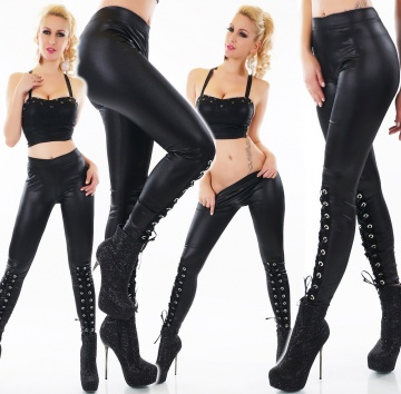 LEGGINGS STRINGATI  - ENNA 113