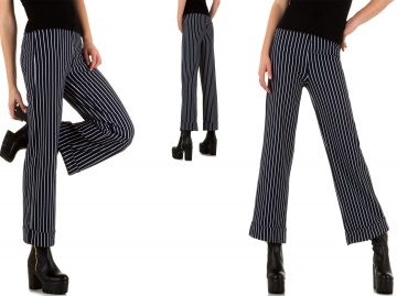 PANTALONE LARGO A RIGHE