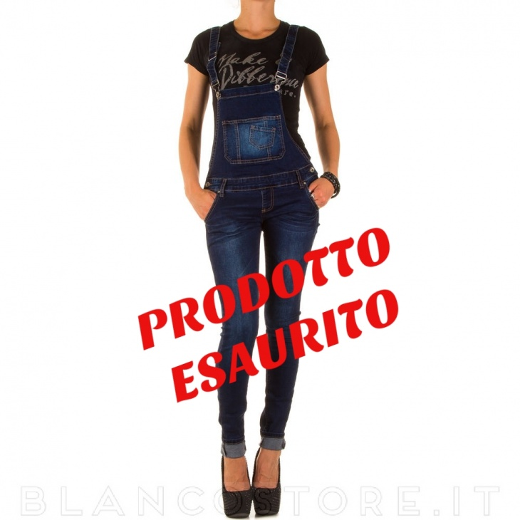 SALOPETTE JEANS STRETCH